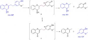不同异构体,相同的质谱图