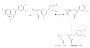木犀草素丢失68Da的过程(Ge)